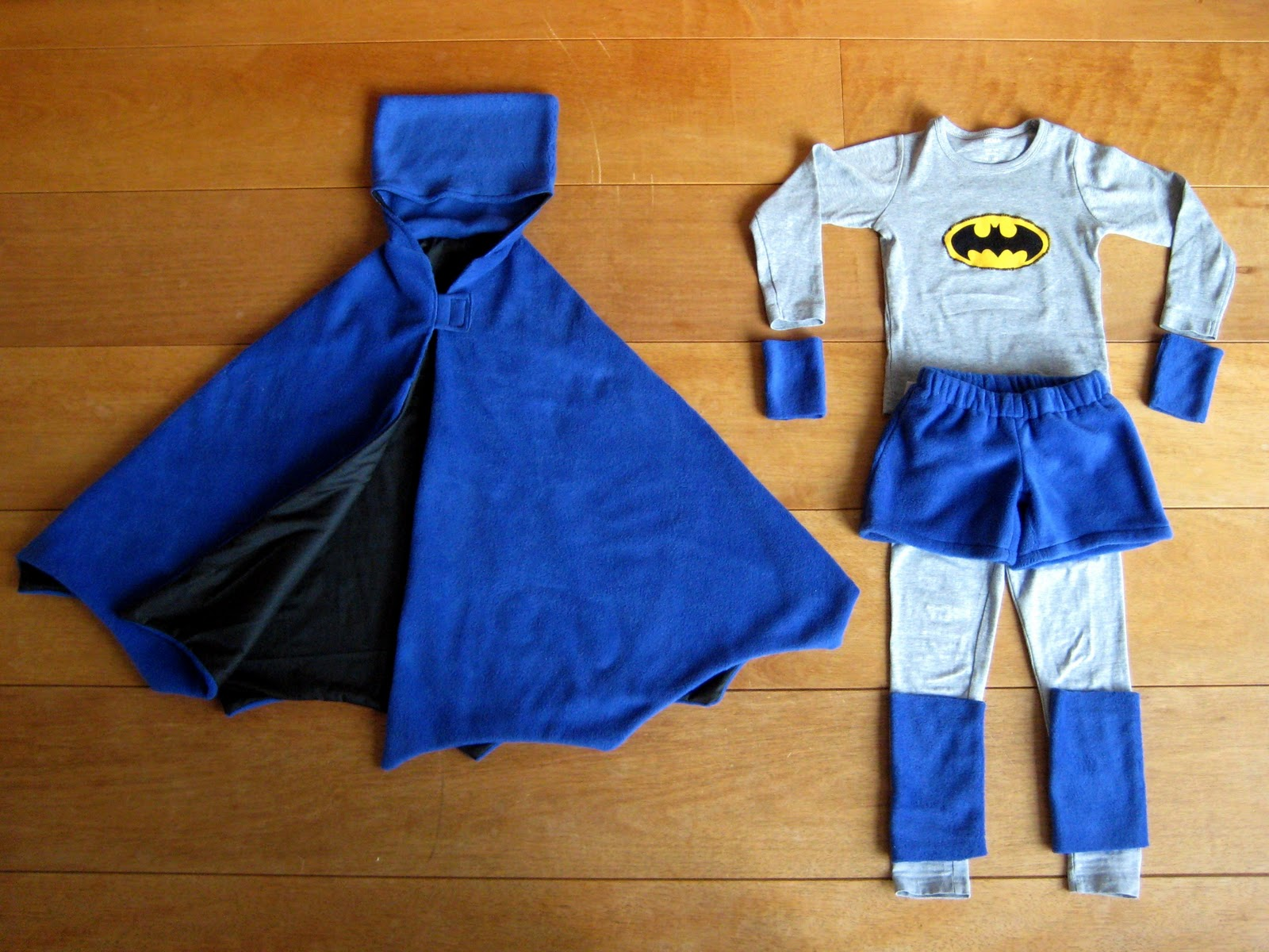 Hema Fleece By Miekk: Batman & Bumba