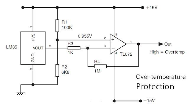 basic lm35 temperature sensor circuit electronic circuit auto rh reit co vu