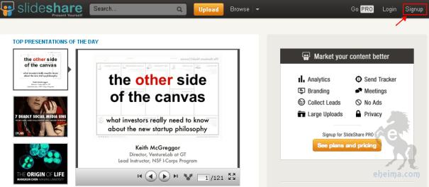 slideshare使用教學