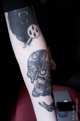 boys hands tattoo design