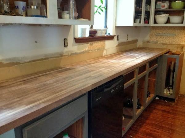 walnut butcher block countertops