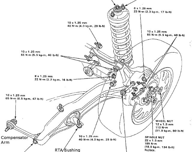 97 acura cl 2.2 engine diagram