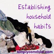 creating household habits