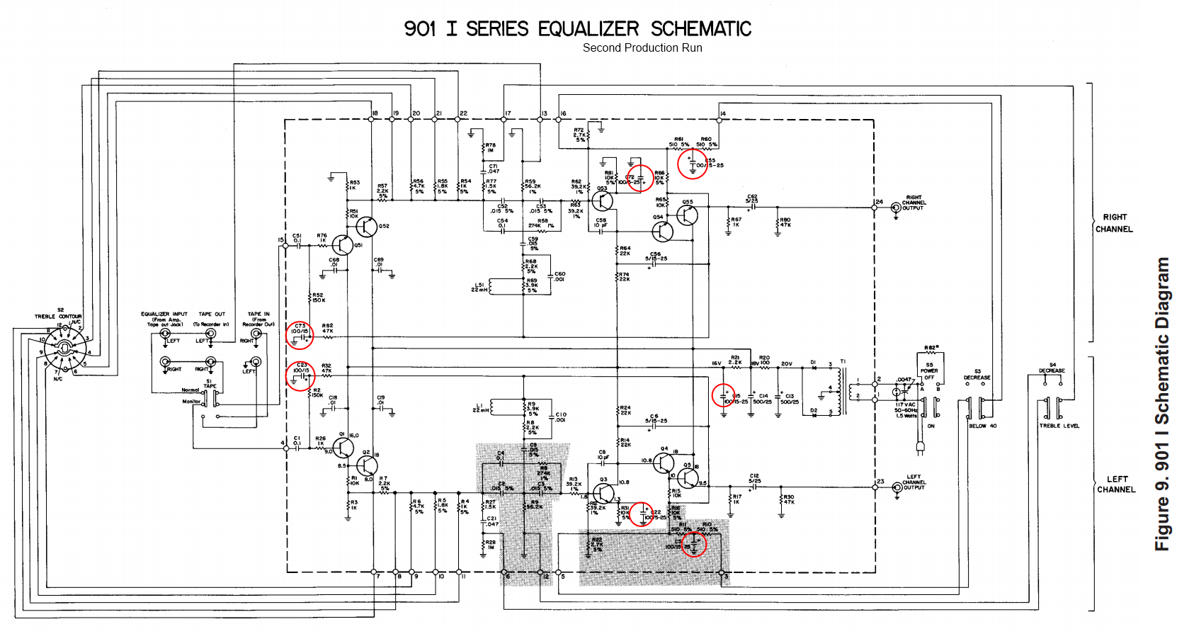 using bose 901 equalizer wiring diagram