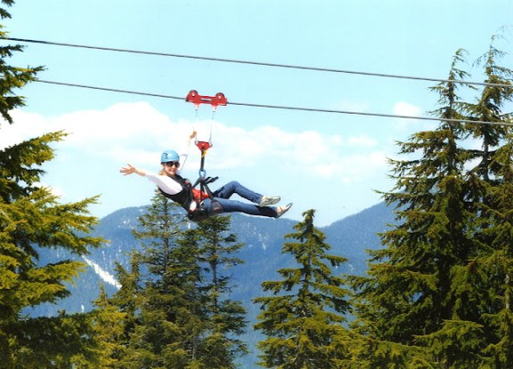 Ziplining On Grouse Mountain Fun Times The Peak Of Vancouver