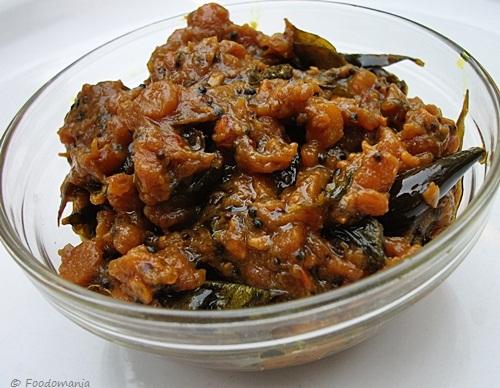 Pulikachal recipe | Tamarind pickle or Tamil Pulikkachal