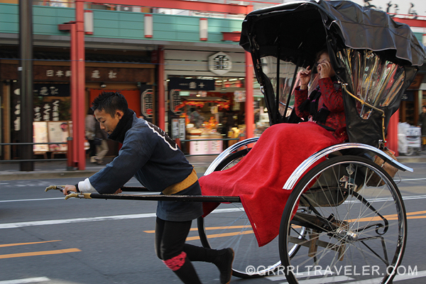 japanese rickshaw, tokyo attractions