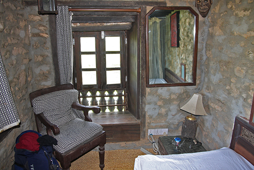 My 2nd night's room in Chobhar