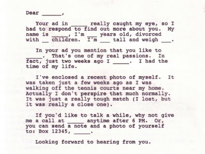 Joan Collins Stole My Husband But I Will Win Him Back Just What Your Love Life Needsa Form Letter
