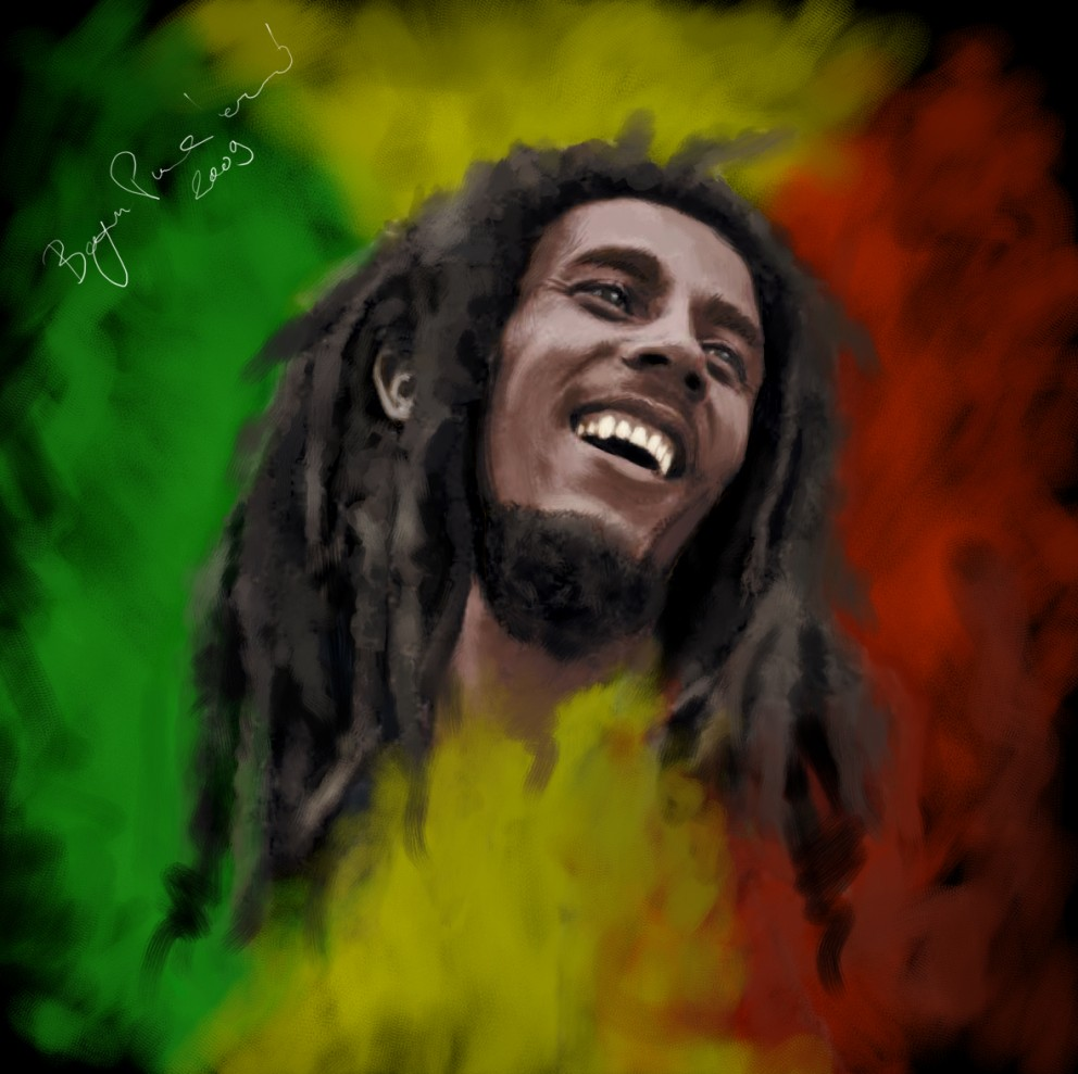 Amazing Computer Wallpapers Quotes Wallpapersku Bob Marley Pictures In Art