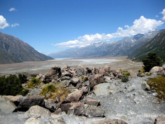 Tasman Glacier Valley, Aoraki Mount Cook