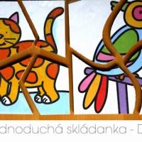 DIY skládanky pro malé děti