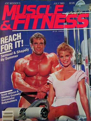 Bad Set Vintage Old School Muscle And Fitness Magazine Covers In 1970s