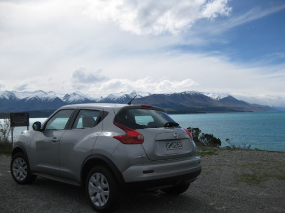 Driving on the South Island, New Zealand