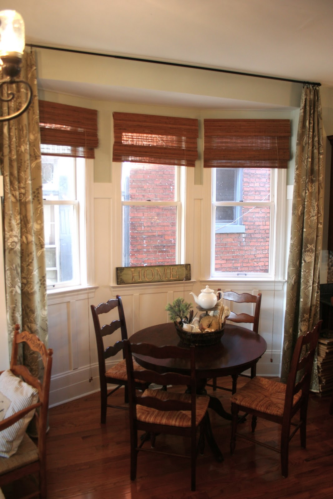 Breakfast Nook Curtains Curtain Panels For My Breakfast Nook How To Make Curtains