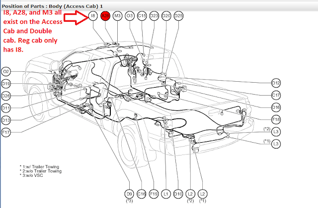 toyota camry user wiring diagram 2005