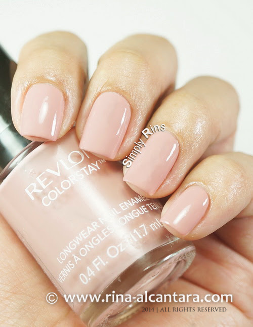 Revlon Nude Expressions Nail Polish Collection Simply Rins