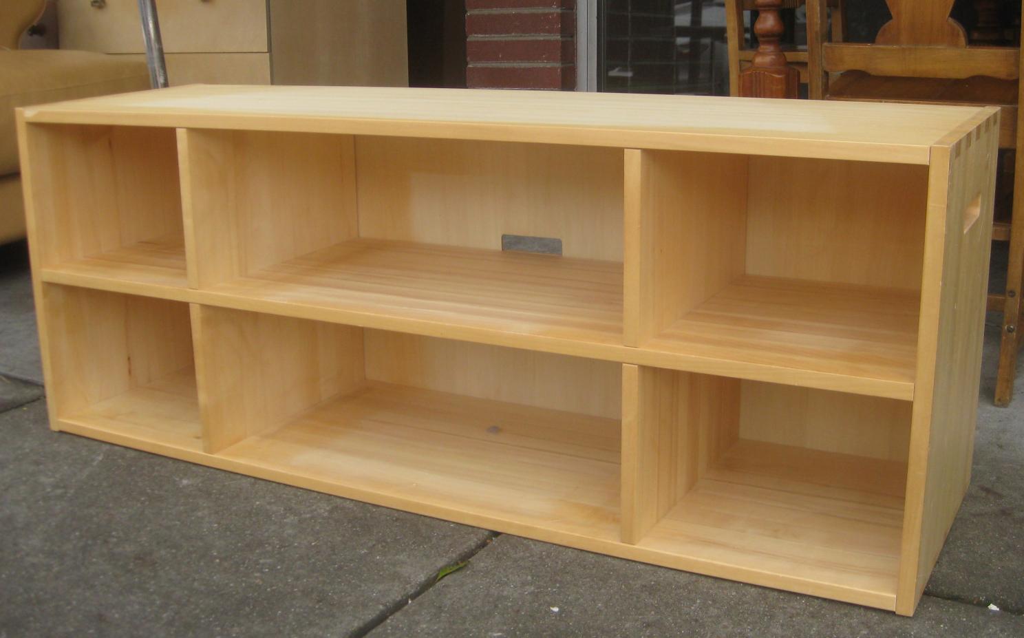 Uhuru Furniture Collectibles Sold Long Low Shelf 35