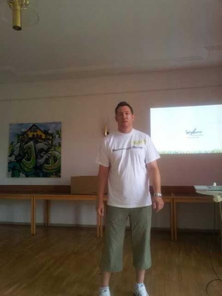 Kai Thrun während seiner Session