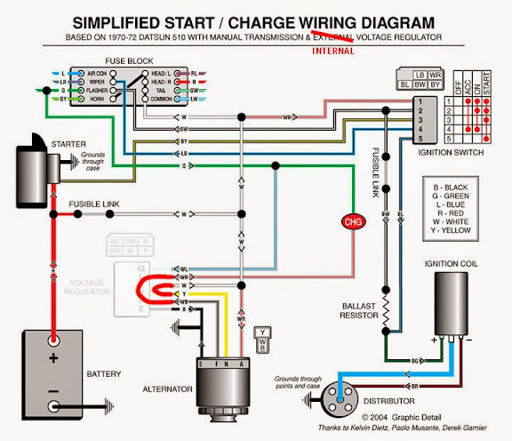 Datsun 620 Wiring Diagram For Distributor Wiring Schematic Diagram