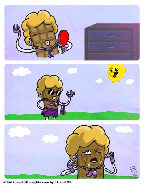 Cute Comic, Dolled Up