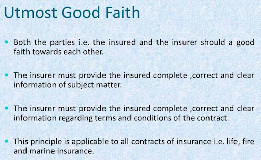 Principles of Insurance - 7 Basic General Insurance Principles - contract important elements