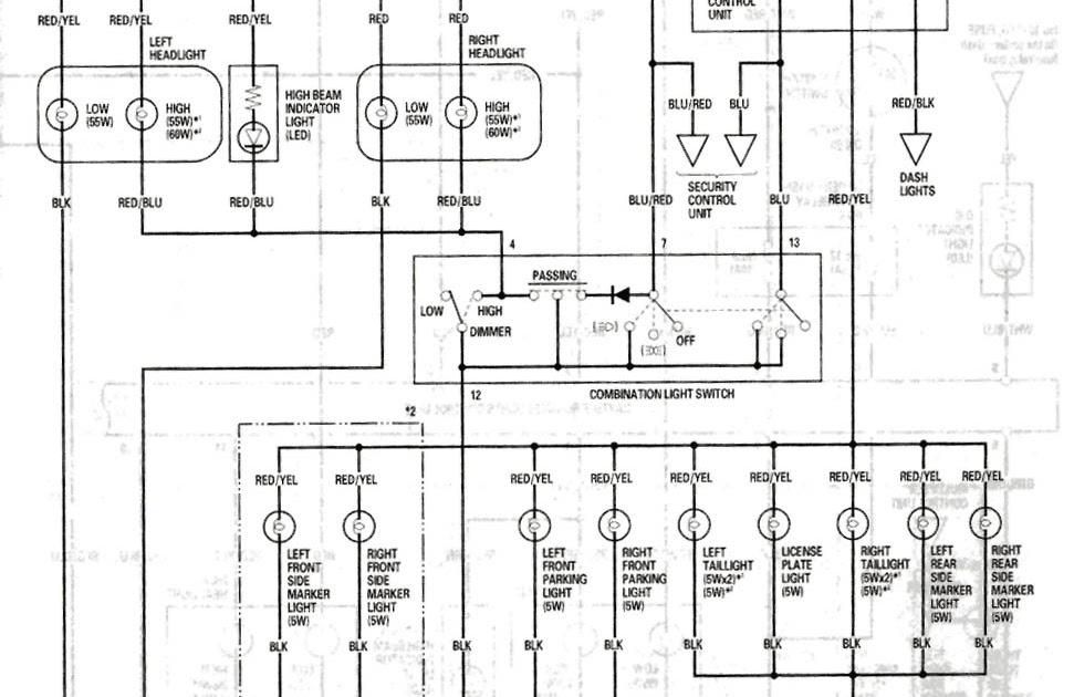 acura rsx fog light wiring diagram