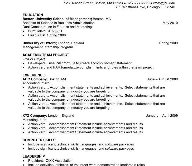 undergraduate ta resume
