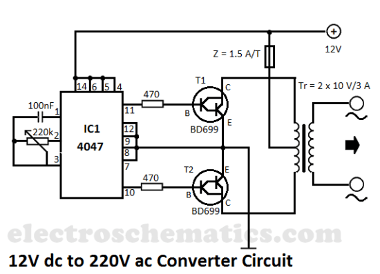 how to build dc to dc converter circuit diagram