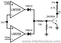 lm358 mic amp schematic