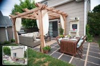 Backyard Makeover with Lowes | Brooklyn Limestone
