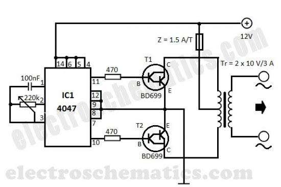 integrated circuit the 4047 astable monostable multivibrator