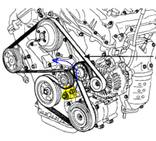 enginepartment diagram