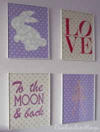 DIY Fabric Wall Art with Silhouette - Silhouette School