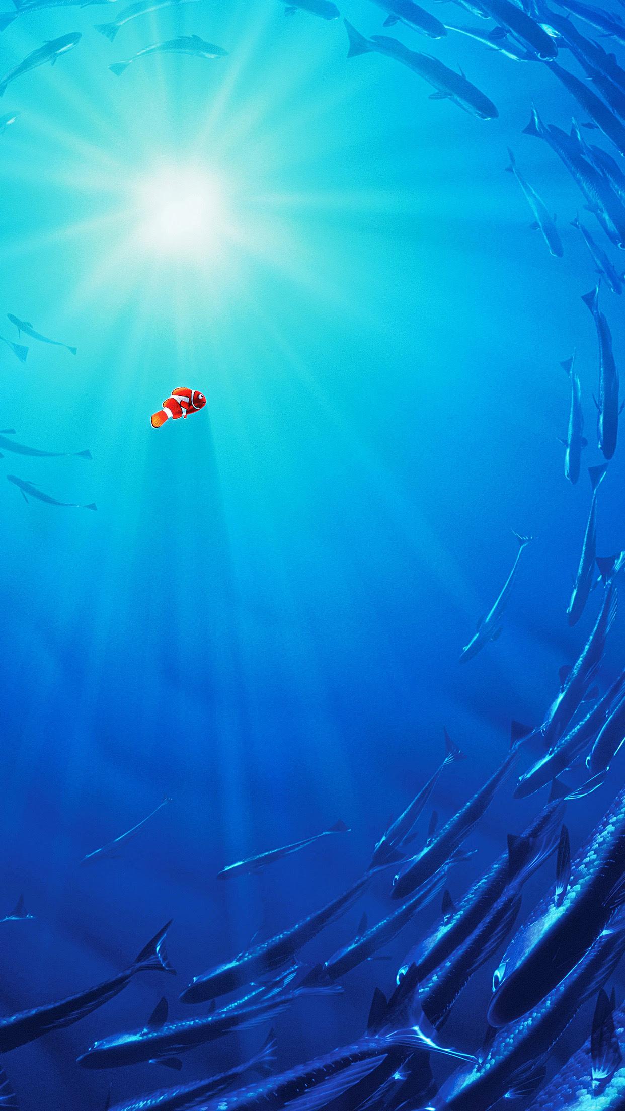 Clown Fish Wallpaper Iphone 6 Plus Download Wallpaper Iphone 6 Nemo Wallpaper Marmer