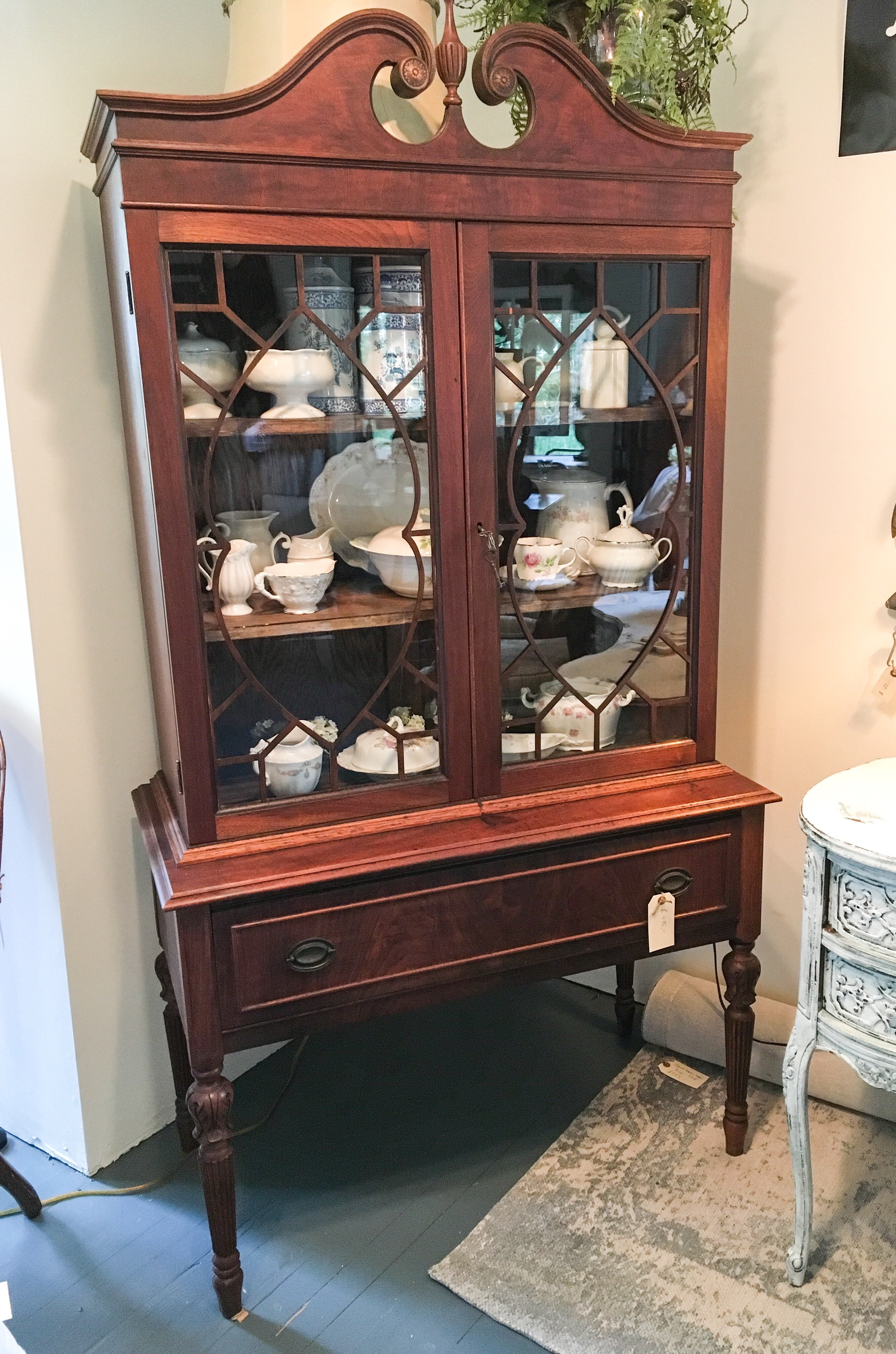 Landhaus Style For Sale Federal Style China Cabinet Land Haus Antiques