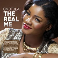Omotola's The Real Me Covers DSTV Magazine Jan/Feb 2013 issue