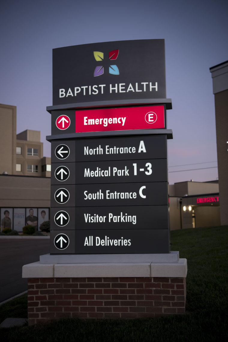 Interior Blog Baptist Health | L&h Sign Company, Philadelphia, Pa