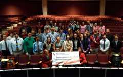 SGA donates $14,246.72 to leukemia research