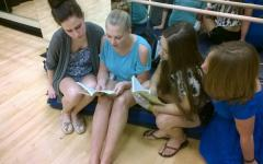 Photo of the Day 9/12/14: Cast rehearses Our Town