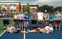 Photo of the Day 9/16/14: Unified Tennis practices for Evaluation day