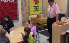 Photo of the Day 10/9/14: Coblentz goes back to pre-school