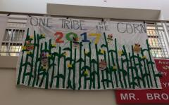 Banners represent class homecoming spirit:  One Tribe