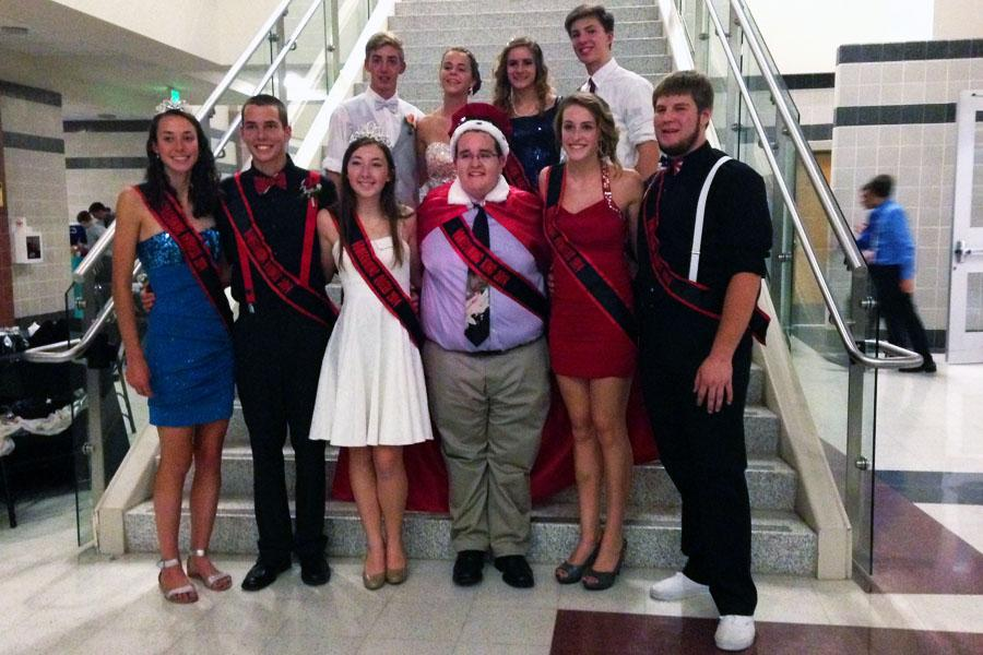 Photo Of The Day: Dillon and Dolan win Homecoming king and queen.