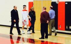 Boys basketball senior night praises graduating players: Photo of the Day 2/24/2015