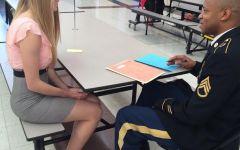 Junior Interview Day: Class of 2016 practices job skills