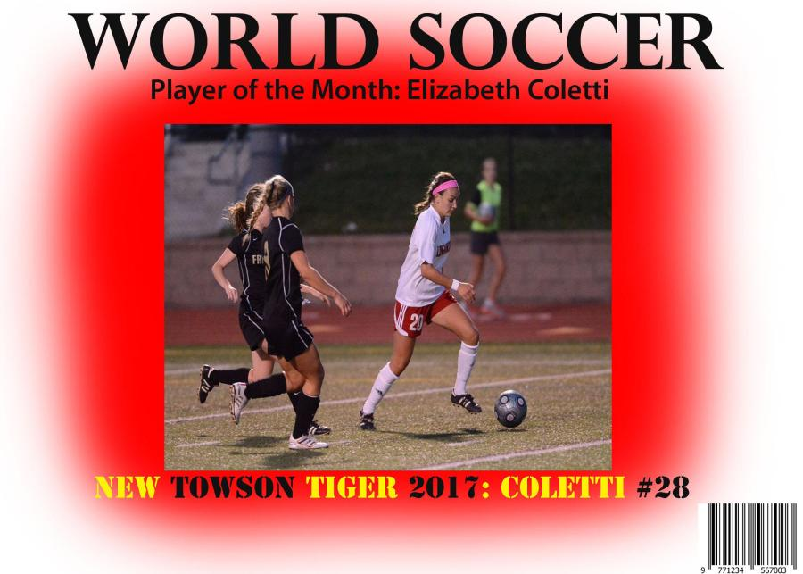 Elizabeth Coletti: Most likely to… play in the World Cup