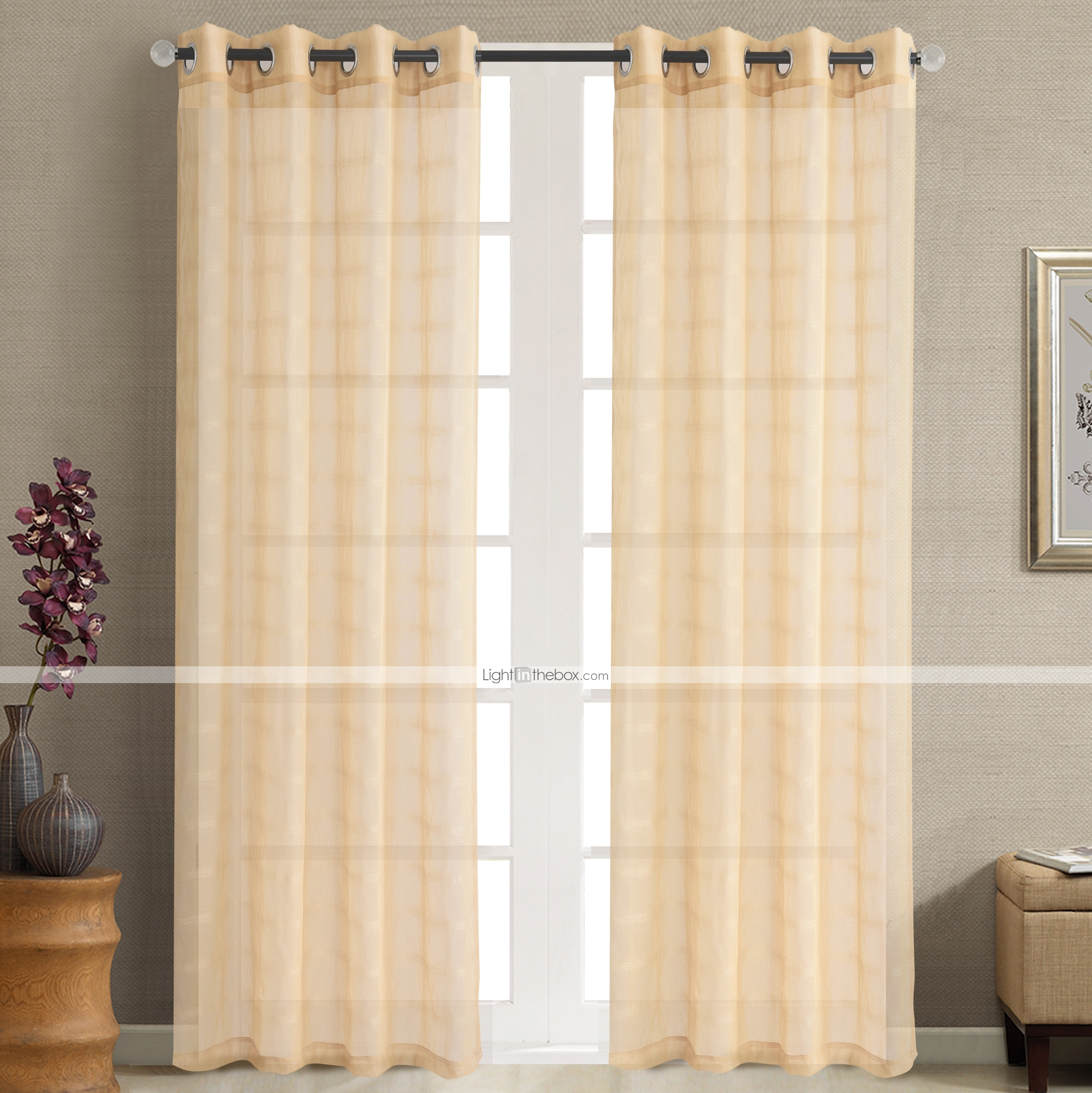 Sheer Curtains Australia Eco Friendly Sheer Curtains Shades Custom Size Gold Jacquard