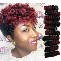 Braiding Hair Bouncy Curl / Saniya Curl Twist Braids