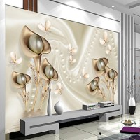 Art Deco 3D Home Decoration Contemporary Wall Covering ...